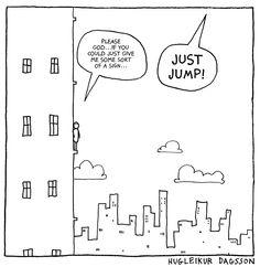 Comics by Hugleikur Dagsson