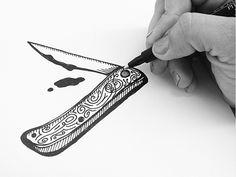 Pocket knife by Matylda Mcilvenny
