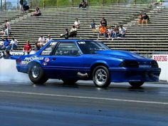 RIP Mike Modeste - Mustang Mike Drag Racing  670ci Twin F1X ProCharger   Tim Lewis Photo