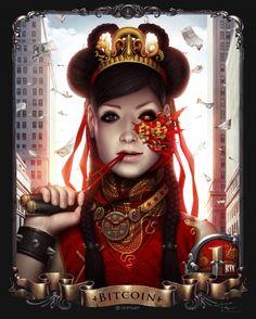 Chinese Girl by Alexander Fedosov