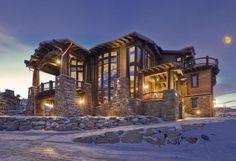 Lujoso CHALET En Deer Valley Resort, Park City, Utah A La Venta Por $21.9 MILLONES