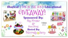 """Magical """"Fun In The Sun""""Educational Giveaway ~ 1 Winner (Ends 6/16) @officialnumnoms @PlayMonsterFun ~ Tales From A Southern Mom"""