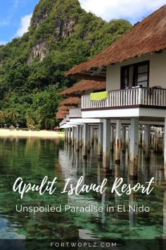 Planning an exotic beach honeymoon in the Philippines? Check out Apulit Island in El Nido. Enjoy the natural beauty the tropical island has to offer! Asia Travel, Travel Tips, Travel Destinations, Travel Guides, Travel Advice, Holiday Destinations, Great Places, Places To Go, Travel Around The World