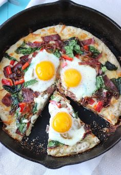 Breakfast Pizza. A breakfast pizza sporting all your favorite breakfast toppings is a brunch favorite that will please all your guests.