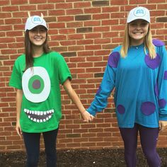 monsters inc. character day! homecoming spirit week