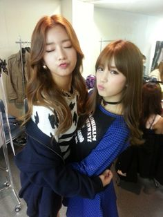 APink ChoRong and BoMi / ChoBom Couple