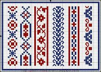 Free Easy Cross, Pattern Maker, PCStitch Charts + Free Historic Old Pattern Books: Stickmuster-Buck . Dessins de Broderie No. Cross Stitch Boarders, Cross Stitch Bookmarks, Cross Stitch Flowers, Cross Stitch Charts, Cross Stitching, Folk Embroidery, Cross Stitch Embroidery, Embroidery Patterns, Loom Patterns