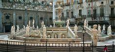 Conoce la Fontana Pretoria, en Palermo - http://www.absolutitalia.com/conoce-la-fontana-pretoria-palermo/
