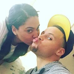 Ayesha and Steph Curry Ayesha And Steph Curry, Ayesha Curry, Famous Couples, Couples In Love, Black Love, Black Is Beautiful, Black Celebrities, Celebs, Celebrity