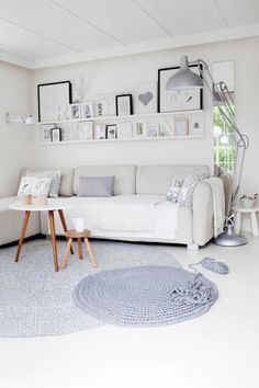 biały+salon+aranżacje+-+Lovingit.pl