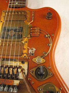 Strobotac guitar detail right front Picture