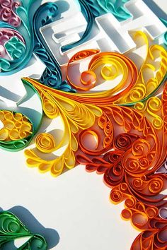 Have You Seen This Cool Art: Paper Quilling Designs  Patterns