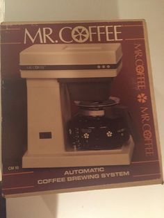 Mr Coffee Retro Coffee Maker : 1000+ images about Never Used Kitchen on Pinterest Cranberries, Skillets and US states