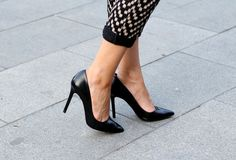 you can never have enough black heels