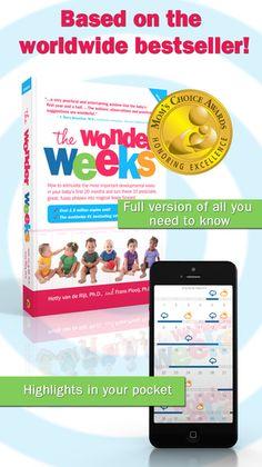 Screenshots gemaakt voor The Wonder Weeks App