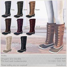 Fri.day - Greta.Boots