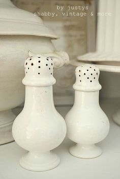 ironstone salt shaker - Google Search