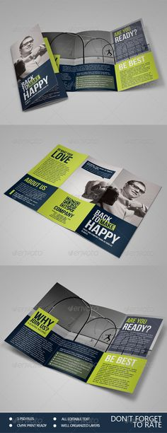 Happy - Multipurpose Trifold Brochure