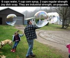 Wanna Make Super Bubbles