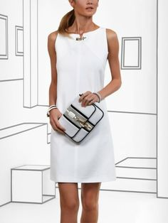 Pin by Jacqueline Daisy on JZ in 2019 Beautiful Casual Dresses, Simple Dresses, Summer Dresses, Princess Outfits, Little White Dresses, Work Fashion, Dress To Impress, Stylish Outfits, Fashion Dresses