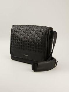 Serapian Textured Messenger Bag - Parisi - Farfetch.com