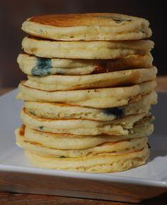Blueberry  Pankakes