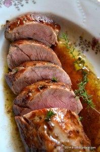 Muschiulet de porc cu sos de ciuperci | Savori Urbane Meat, Pork