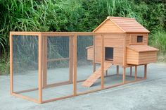 """Rhode Island Extra Large Chicken Coop - Dimensions: 143"""" x 68"""" x 67"""" - Perfect…"""