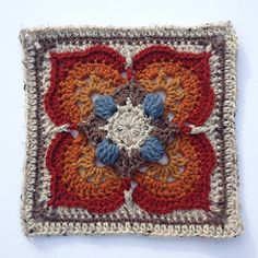 Meet Ilsa (and Rick) - the fourth installment to the Lovestruck collection, a series of twelve star-crossed afghan blocks sure to melt your heart.