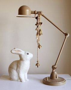 Incredible! The Jielde lamp can be Shabby Chic in that color (so lovely) and Industrial Style in other colors! #jielde