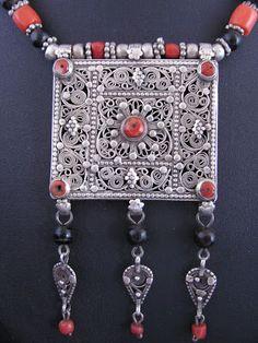 El Arte de la Orfebrería y Joyería : Yemen y la joyería beduina.