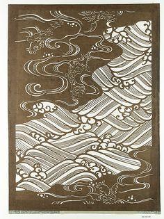 Stencil Period: Edo period (1615–1868) Culture: Japan Medium: Paper Dimensions: 21 1/2 x 15 1/2 in. (54.61 x 39.37 cm) Classification: Stencil