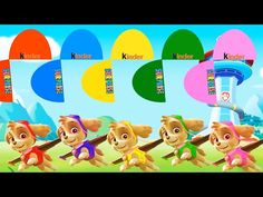 Learn colors with Skye Paw Patrol, Learning videos, Paw Patrol Channel