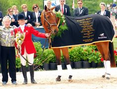 Three time Rolex Kentucky winner Winsome Adante was retired at the event - rider Kim Severson. Dangerous Sports, Pamper Party, Hunter Jumper, Horse Stuff, Horseback Riding, Dressage, Cross Country, Ponies, Kentucky