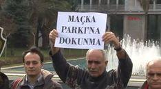 İBB önünde Maçka Parkı eylemi- En Güncel Haberler | En Güncel Haberler