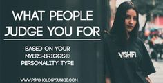 Do you ever think that people judge you for something that's an inherent part of your personality? Do you ever …