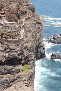 Beautiful mountain road, Ponta do Sol, Santo Antão Cabo Verde Beautiful Islands, Beautiful Places, Places To Travel, Places To Visit, Easy Jet, Verde Island, Cape Verde, Natural Park, Africa Travel