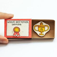 Trang Hoang Creates Tiny Matchbox Greeting Cards With A surprising Messages Inside.|FunPalStudio|Illustrations, Art, artwork, Artist, Entertainment, beautiful, creativity, drawings, paintings, greeting cards.