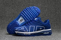 39cc95e2b2 Nike Air Max Flair Shoes Blue White on www.offwhiteonline.com Mens Running  Trainers