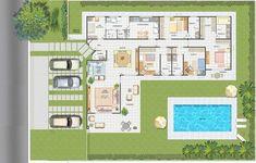 Casas de una planta - Imagui