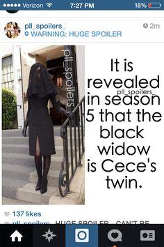 Pll spoiler: Wait... Cece has a twin???