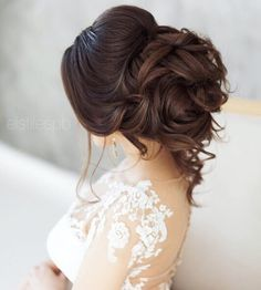 updo bridal hairstyle #weddinghair #weddinghairstyle #hairstyle #updo
