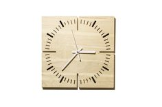 """TOKLOK is an original wall clock complete with movement and hour and minutes hands  TOKLOK is realized BY G.Nus FurnITure on JBB atelier's project : """"The idea was to obtain a clock from a panel of birch plywood trying to keep the aesthetic  simple and clean, but functional."""" Material:  birch plywood  Dimensions(l. x d. x w.): 30x30x2 cm  Weight: 1 kg For information and free estimates call +39 051945785 or send an email to g.nusfurniture@gmail.com"""