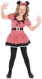 f24bd0807422a Fun Shack Child Missy Mouse Costume - AGE 4 - 6 YRS (S): Funshack:  Amazon.co.uk: Toys & Games