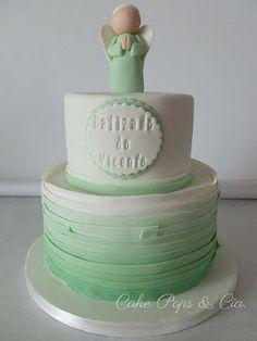 Bolo de Batizado #Bolos #Cakes #Batizado