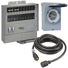Hubbell 5266 Ac Male Edison Plug 15 Amp Black