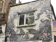 Londra capitale della street art, il 'tour' dei graffiti cult