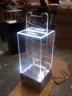 Interactive Donation Box with LED's