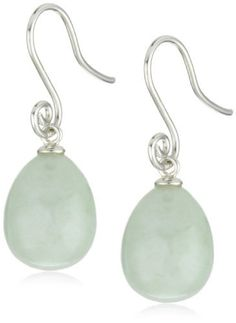 Sterling Silver Drop Shape Onyx  Green Jade and Dyed Lavender Interchangeable Earrings: http://www.amazon.com/Sterling-Silver-Lavender-Interchangeable-Earrings/dp/B006A1V750/?tag=afacerinetinf-20