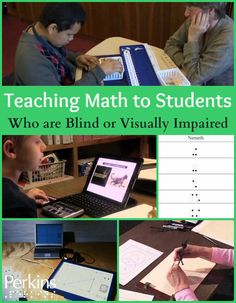 In this webcast, Susan Osterhaus shares her insights related to instructional strategies and resources for teaching math to students who are blind or visually impaired. Tactile Activities, Algebra Activities, Reading Activities, Preschool Activities, Education English, Elementary Education, Instructional Strategies, Differentiated Instruction, Education Quotes For Teachers